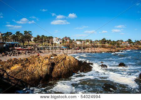 San Francisco Fisherman's Place Near The Town Of Piriapolis In The Uruguay Coast