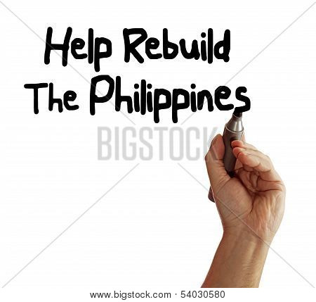 Help Rebuild The Philippines