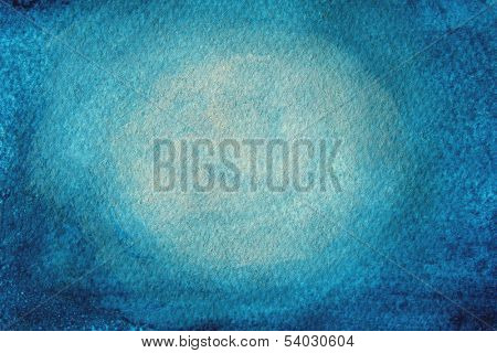Blue Watercolor Background 1