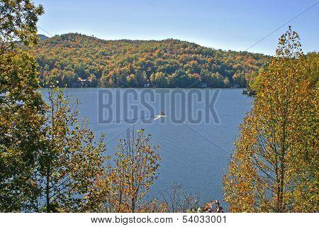 Autumn on Lake Chatuge