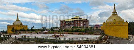 Rinpoche Bagsha Datsan Monastery Panorama In Ulan-ude, Russia