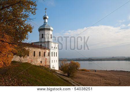 Old Russian Church Of Archangel Michael