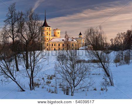 Mariental Castle In Winter