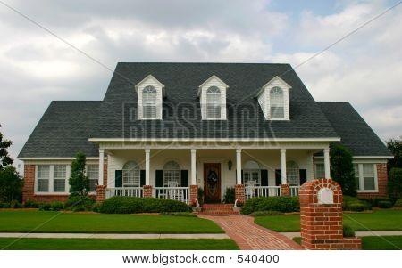 Neue Haus im klassischen Stil