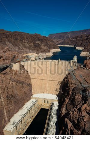 Hoover Dam near Las Vegas Nevada