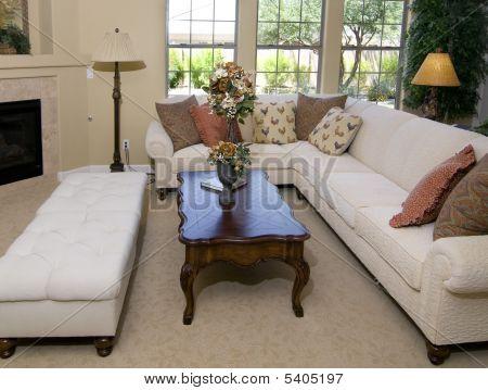 Beautiful Large Living Room