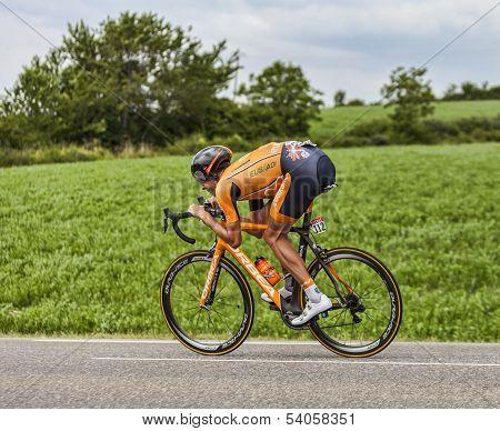 The Cyclist Mikel Astarloza