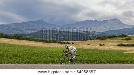 The Cyclist Maxime Mederel