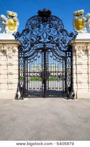 Classic Wrought Gate