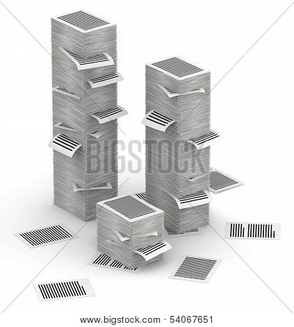 Pages Paper Stacks 3D Isometry