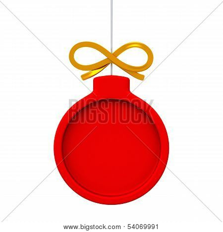 Christmas ball frame, 3d