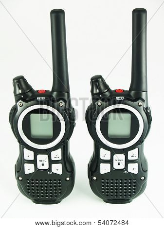 Portable radio set