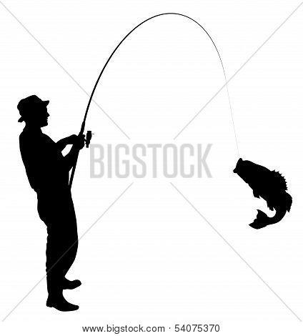 Fishing Silhouette