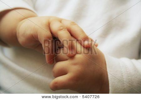 Mãos de Babys