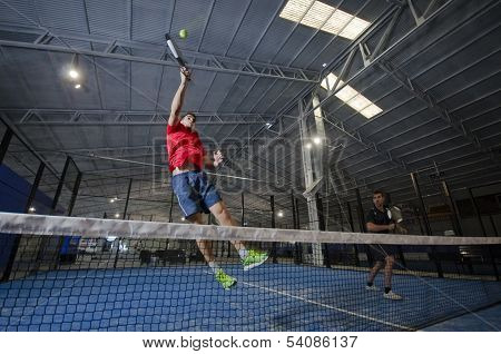 Paddle Tennis Smash