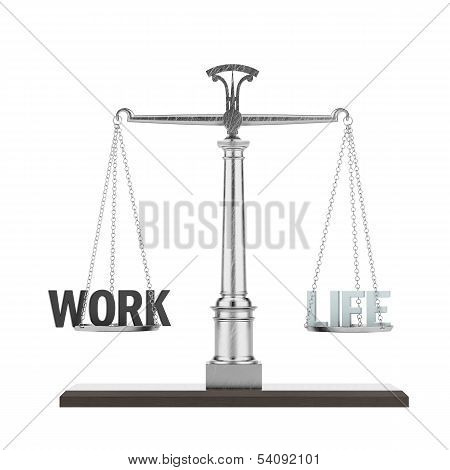 word life and work on scale