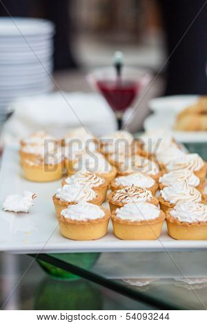 Small Cream Tarts And Jam