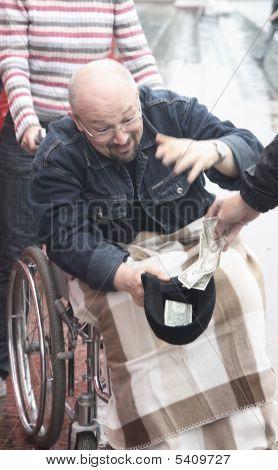 Man-beggar