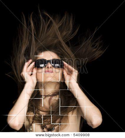 Vogue Dark Glasses