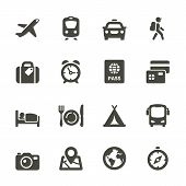 image of flat-bed  - Traveling and transport icons for Web and Mobile App - JPG
