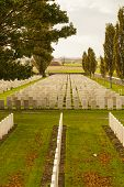 foto of tyne  - Tyne Cot Cemetery in Ypres world war belgium flanders - JPG