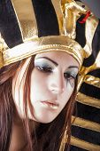 pic of cleopatra  - portrait of cleopatra beautiful queen of egypt - JPG
