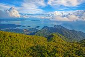 foto of langkawi  - The landscape of Langkawi seen from Cable Car viewpoint - JPG