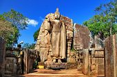 image of polonnaruwa  - Big statue of Buddha  - JPG