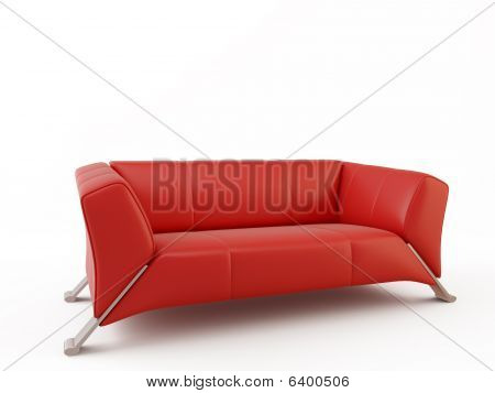 Couch - Isolated On White