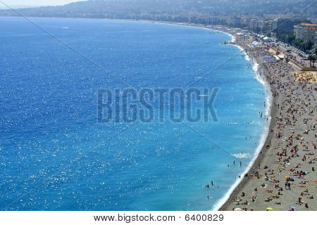 Pebble Beach In Nice