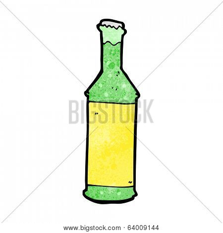 cartoon fizzy drinks bottle
