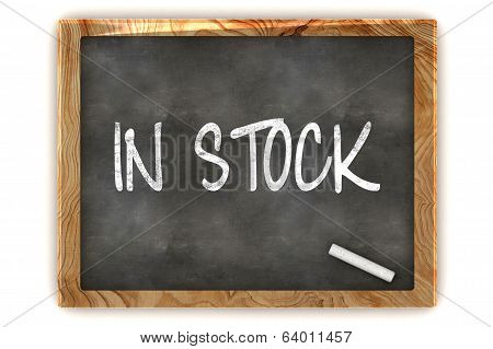 In Stock Blackboard