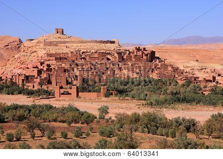 Morocco Ouarzazate - Ait Ben Haddou Medieval Kasbah