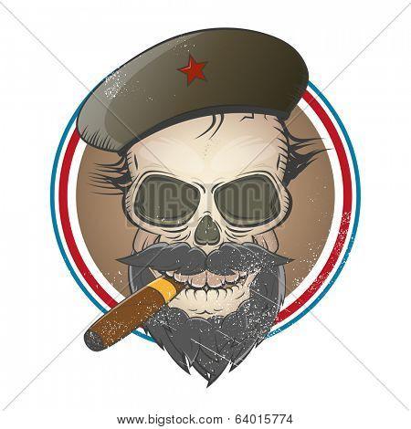 revolution skull sign