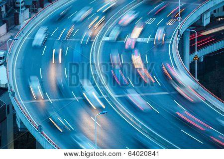 Curve Lanes Closeup