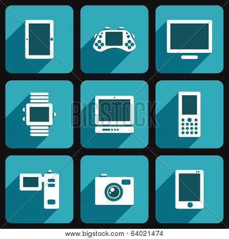 Digital media gadgets set