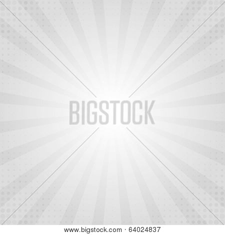 Grayscale rays texture background illustration