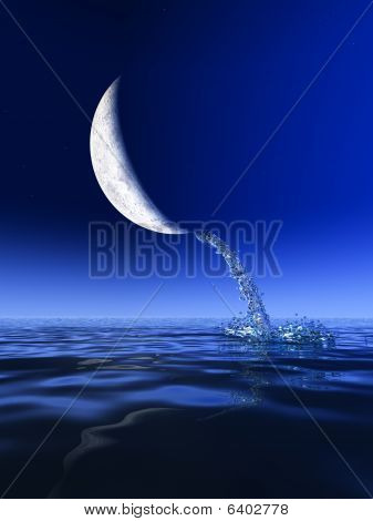 Water From Moon