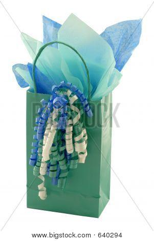 Teal Gift Bag