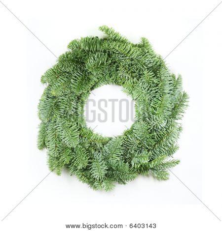 Guirnalda de Navidad en blanco