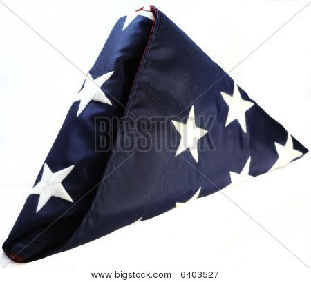 Folded U.s. Flag
