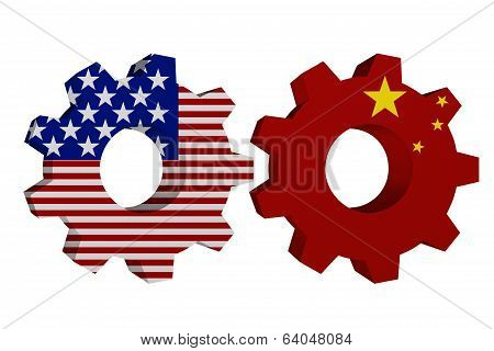 Us Working With China
