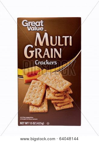 Multi Grain Crackers
