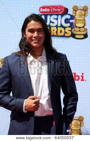 LOS ANGELES - APR 26:  BooBoo Stewart at the 2014 Radio Disney Music Awards at Nokia Theater on April 26, 2014 in Los Angeles, CA