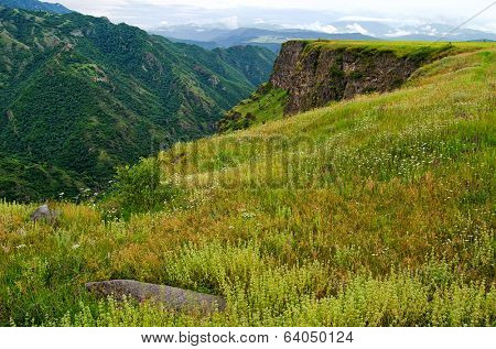 spring in the mountains of Armenia