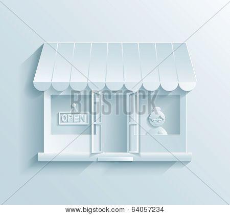 Store paper icon