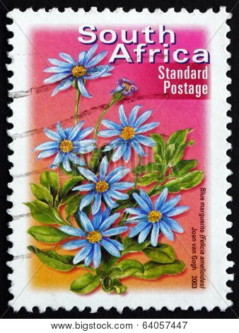 Postage Stamp South Africa 2003 Blue Marguerite, Perennial Plant