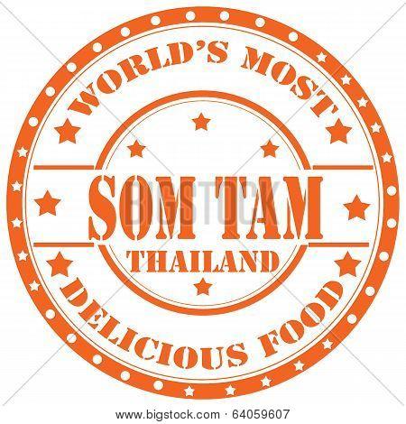 Som Tam-stamp