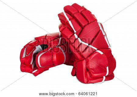 Pair Of Hockey Gloves