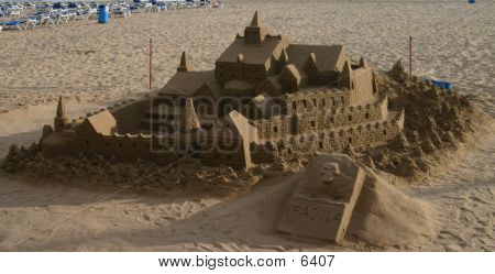Sandcastle (high Resolution)